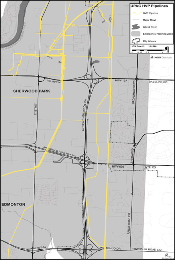 sherwood park map